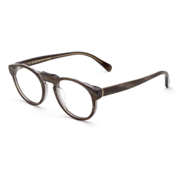 Super Paloma I30D FAV Natural Horn Large Eyeglasses