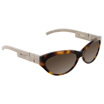 Gold & Wood Quadris Sunglasses