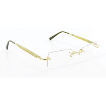 Gold & Wood R33-6-CBR24 Eyeglasses