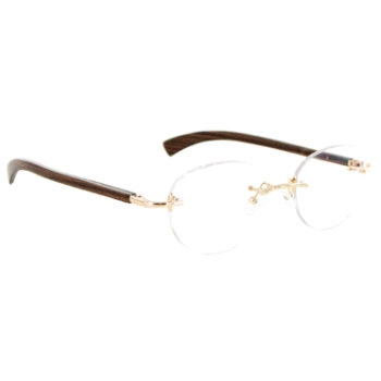 Gold & Wood R38.6.CrA53 Eyeglasses