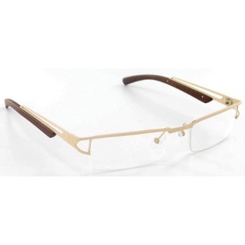 Evolution Art RE006 (Wood Temples) Eyeglasses