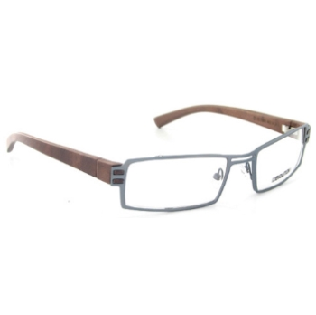 Evolution Art RE009 (Wood Temples) Eyeglasses