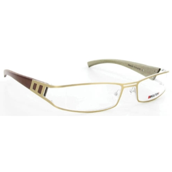 Evolution Art RE016 (Wood Temples) Eyeglasses
