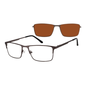Revolution w/Magnetic Clip Ons Lancaster w/Magnetic Clip-on Eyeglasses