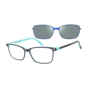 Revolution w/Magnetic Clip Ons Biloxi w/Magnetic Clip-on Eyeglasses