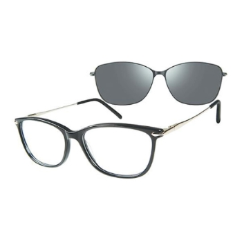 Revolution w/Magnetic Clip Ons Odessa w/Magnetic Clip-on Eyeglasses