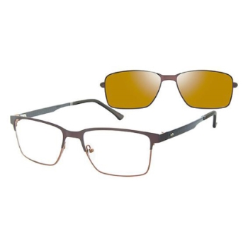 Revolution w/Magnetic Clip Ons Redmond w/Magnetic Clip-on Eyeglasses