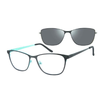Revolution w/Magnetic Clip Ons Yuma w/Magnetic Clip-on Eyeglasses
