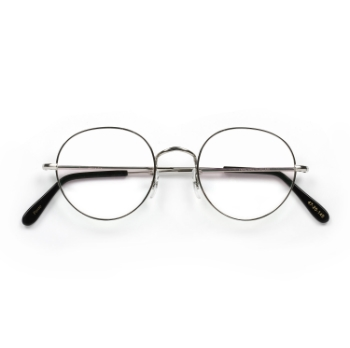 Savile Row 18kt Centre-Joint Panto Eyeglasses