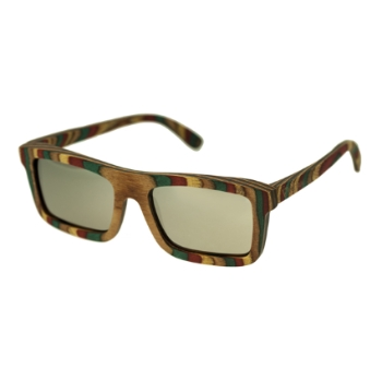 Spectrum Wood Philbin Sunglasses