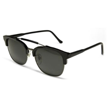 Super 49er Black 462 Sunglasses