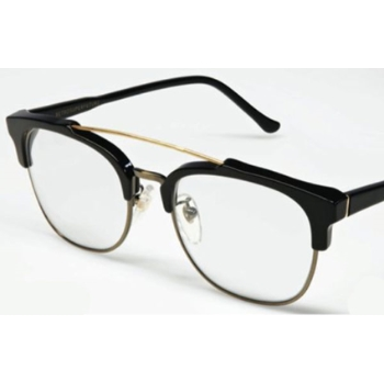 Super 49er Black/Black 614 Eyeglasses