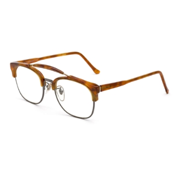Super 49er IDOI 624 Light Havana Large Eyeglasses