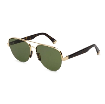 Super Air I0HD RY0 Havana & Gold Sunglasses