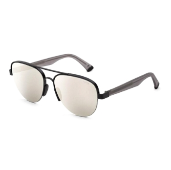 Super Air IL31 WPS Black & Silver Sunglasses