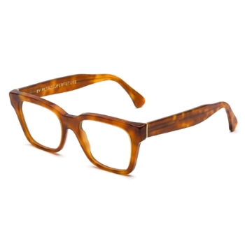 Super America I8EM 625 Light Havana Large Eyeglasses