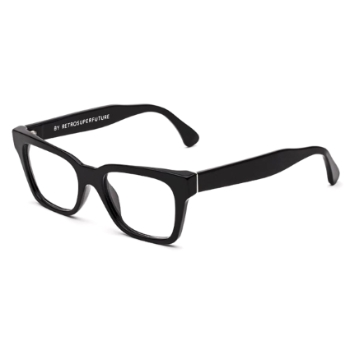 Super America Black/Black IC0D Eyeglasses