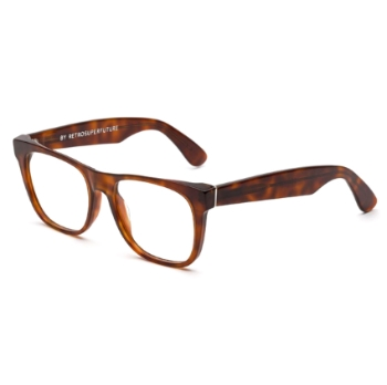 Super Classic Optical I40A 629 Havana Large Eyeglasses
