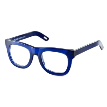 Super Ciccio Transparent Blue with Clear Lens 055 Eyeglasses