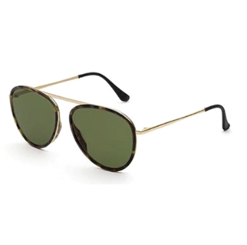 Super Dokyu I2C1 6B2 3627 Green Sunglasses