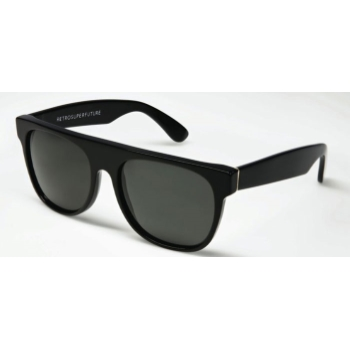 Super Flat Top IFTB 557 Black Large Sunglasses