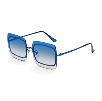 Super Gia INMW 5Y4 FadEISM Blue Sunglasses