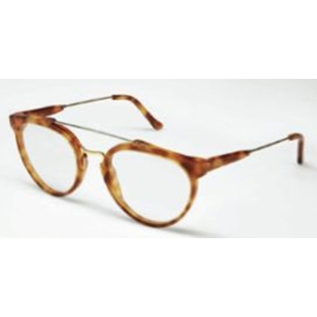 Super Giaguaro Light Havana/Yell/Gold Metal & Light Hav 628 Eyeglasses