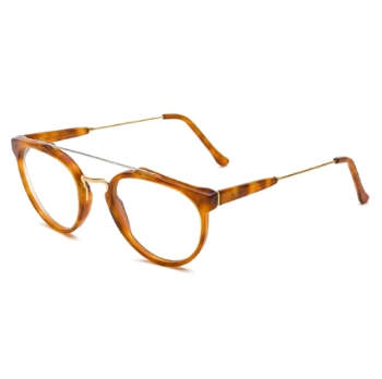 Super Giaguaro I905 628 Light Havana Large Eyeglasses