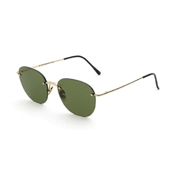 Super Lou IP2V GJ6 Green Sunglasses