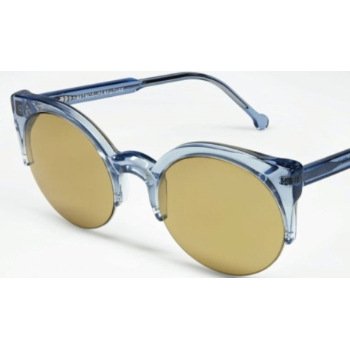 Super Lucia Trans Electric Blue 572 Sunglasses