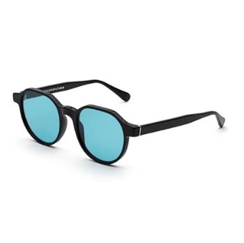 Super Noto I0AB XU4 Black Turquoise Sunglasses
