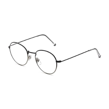 Super Numero 40 IPCC 04K Faded Nero/Argento Eyeglasses