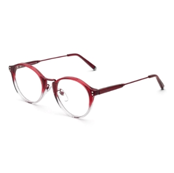 Super Numero 43 I8VK PPQ Bordeaux Faded Eyeglasses