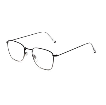 Super Numero 50 IBJ6 SU9 Faded Nero/Argento Eyeglasses