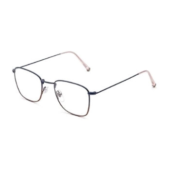 Super Numero 50 ICKS C6C Faded Navy/Rosa Eyeglasses