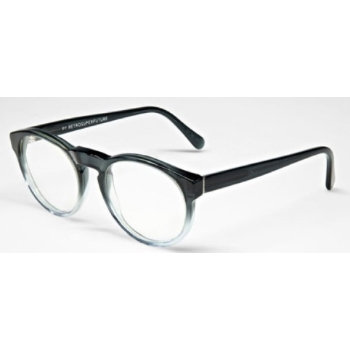 Super Paloma IINE 824 Faded Grey & Crystal Large Eyeglasses