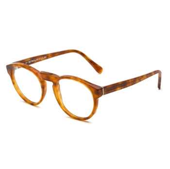 Super Paloma I49H 627 Light Havana Large Eyeglasses