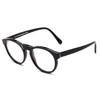Super Paloma IB8G 617 Black Large Eyeglasses