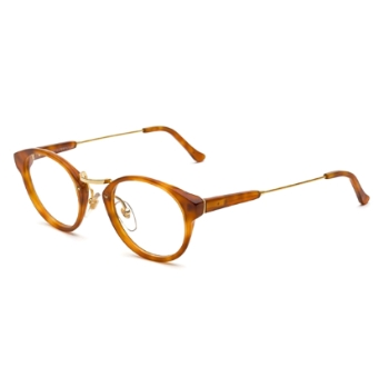 Super Panama IPPK 623 Light Havana Large Eyeglasses