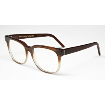 Super People IUO2 818 Faded Bordeaux & Crystal Large Eyeglasses