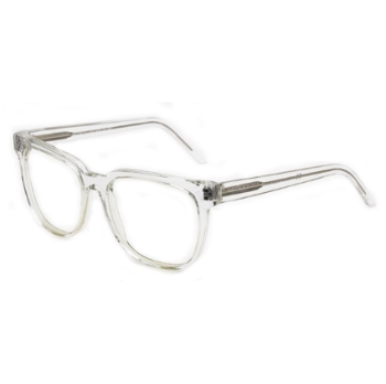Super People IJW0 381 Crystal With Clear Lens Large Eyeglasses