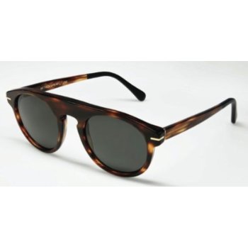 Super Racer Striped Tobacco/Str. Tobacco & Mat Black 600 Sunglasses