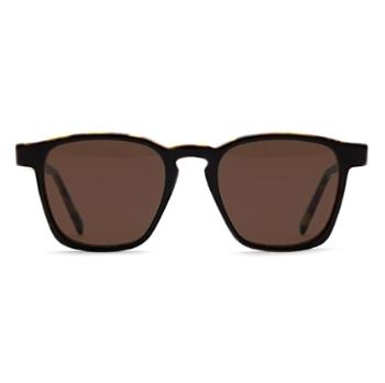 292c344d405 Super Unico IGOO VT1 Havana Black Top Sunglasses