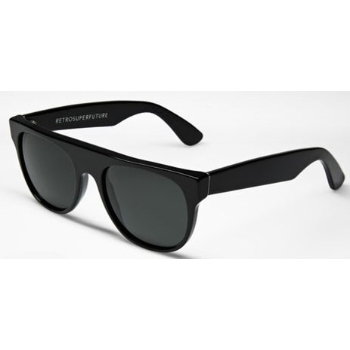 Super Flat Top Small Black 524 Sunglasses