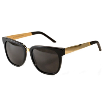 Super People Black/Gold Metal IPKR Sunglasses