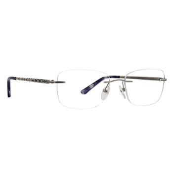 Totally Rimless TR Chevron 256 Eyeglasses