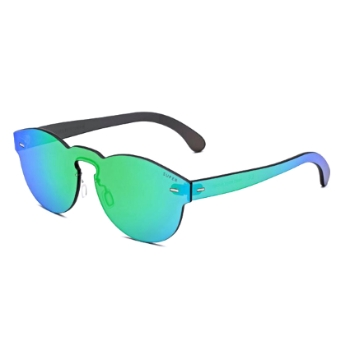 Super Tuttolente Paloma INX7 E9F Green Large Sunglasses
