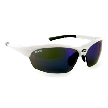 XX2i XX2i France1 Pro Racing Sunglass White + 2 Sets of Spare Lenses Sunglasses