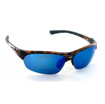 XX2i XX2i France1 Pro Polarized Sports Readers Demi Turtle Sunglasses