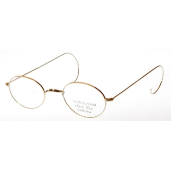 Savile Row Walmer 14kt No Nose Pads w/Cable Temples Eyeglasses